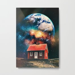 Starring at the world Metal Print