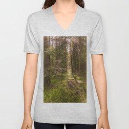 Summer forest Unisex V-Neck