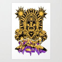 Xochipilli Art Print