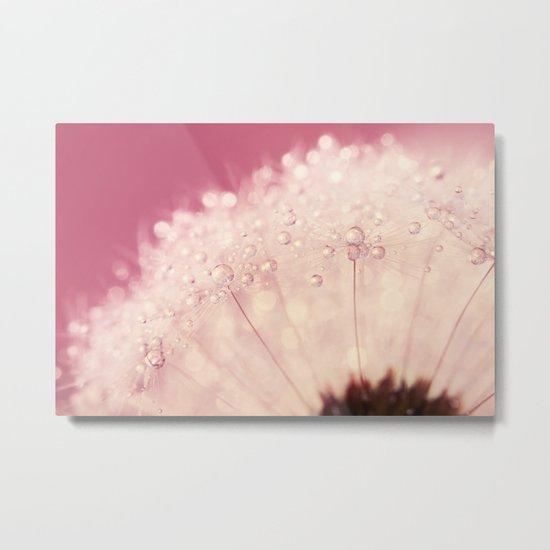 Pink Crush Dandy Sparkles Metal Print