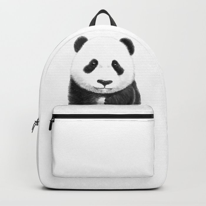 a lovely baby panda Backpack