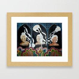 The Light in the Dark  Framed Art Print