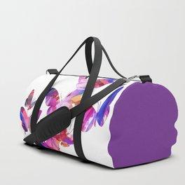 Pink Butterflies Duffle Bag