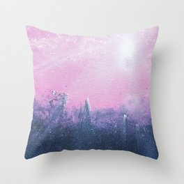 Overcast Glow Throw Pillow