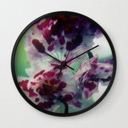 Flowers 1   Fleurs Wall Clock