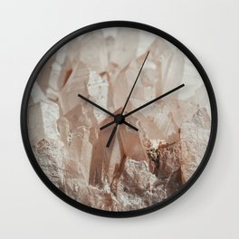Crystal Blush Wall Clock