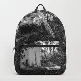Derelict Crosses Backpack