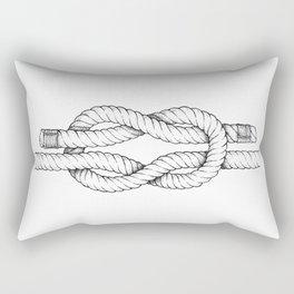 A reef knot - nautical art Rectangular Pillow