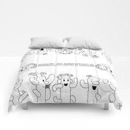 Cactus Family Comforters