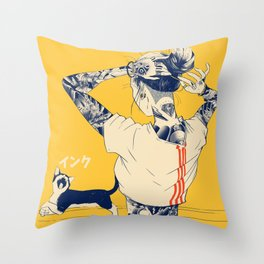 La Tinta! Throw Pillow