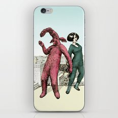Dancing on the roof iPhone & iPod Skin