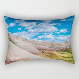Bad Lands 2 Rectangular Pillow