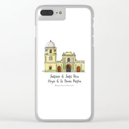 Divina Pastora Clear iPhone Case