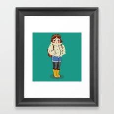 Mononoke Hime Framed Art Print