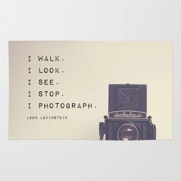 I Photograph Rug