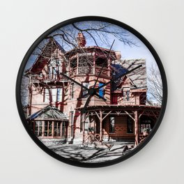 Architecture structure Wall Clock