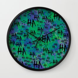Joke: HA HA HA Wall Clock