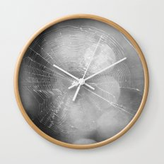 Spinning Tales in the Dark Wall Clock