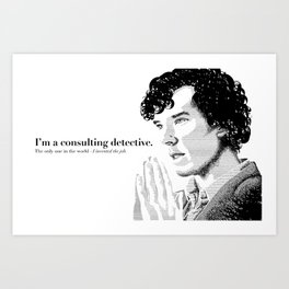 The Science of Deduction Art Print