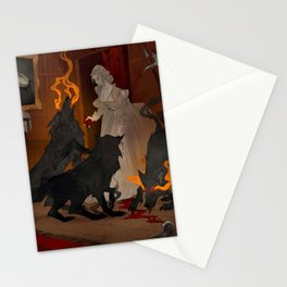 Hungry Hellhounds Stationery Cards
