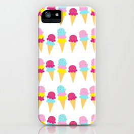 Princess Colour Pop Icecreams iPhone Case
