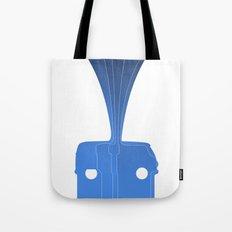 Silhouette Racers - Volkswagen Bus Tote Bag