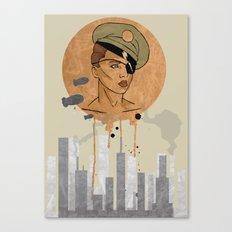 The Steam Captain  Canvas Print