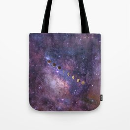 Abstract Outer Space Traveler Tote Bag