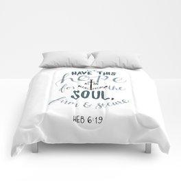 Hebrews 6:19 Comforters