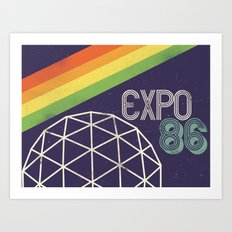 Expo 86 Art Print