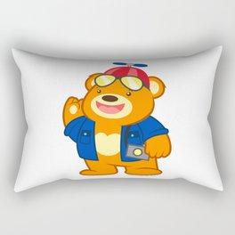 Nano Bear Rectangular Pillow