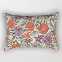 Saint Anthony Park Gardens (spring blossom) Rectangular Pillow