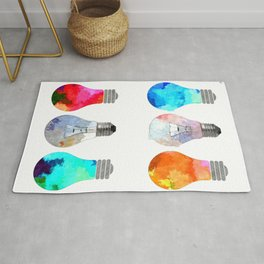 Light Bulbs Rug