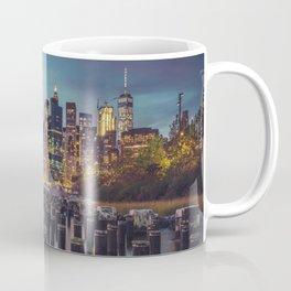 Brooklyn Blue Hour, New York City Coffee Mug