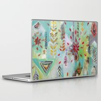 "flora bowley Laptop & iPad Skins featuring ""Liminal Rights"" Original Painting by Flora Bowley by Flora Bowley"