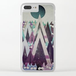 Happy New Year cat 116 Clear iPhone Case