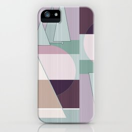 Pastel tone . Abstraction . iPhone Case