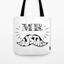 Mr Moustache Tote Bag