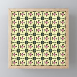 Floor Series: Peranakan Tiles 62 Framed Mini Art Print