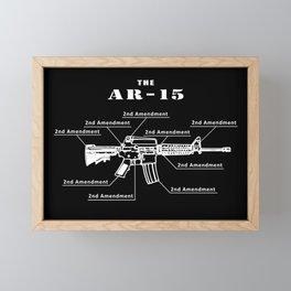 Second Amendment Framed Mini Art Print