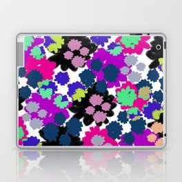 Overlayed blooms Laptop & iPad Skin