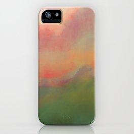 Fiery Morning iPhone Case