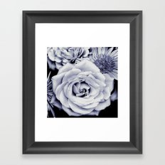 FLOWERS IV Framed Art Print