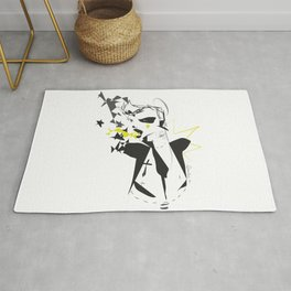 Wasted saturday night - Emilie Record Rug
