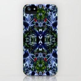 Burst of Blue  iPhone Case