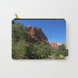 Along The Virgin River Carry-All Pouch