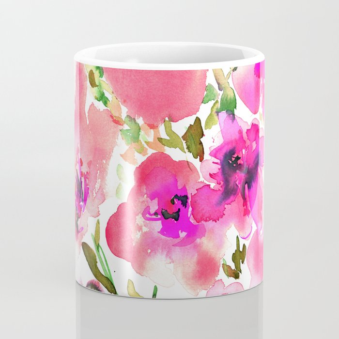 Bouquet Pink Coffee Mug