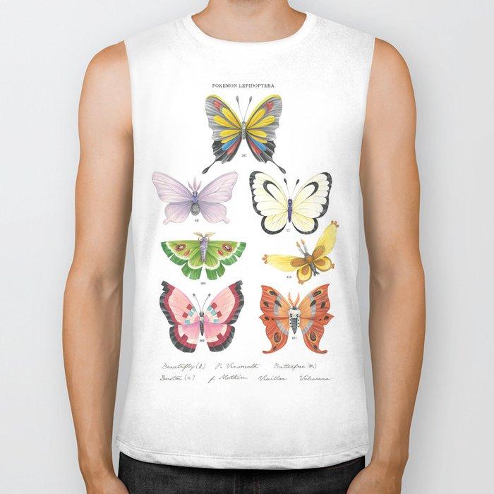 Butterfly Pokémon of the World Biker Tank