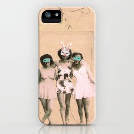Imaginary Friends- Playmates iPhone Case
