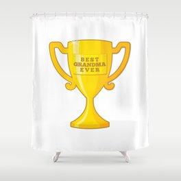Best Grandma Ever Shower Curtain